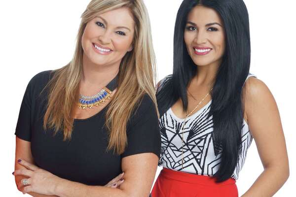 'Living' co-hosts Shelly Miles, left, and Alanna Sarabia.