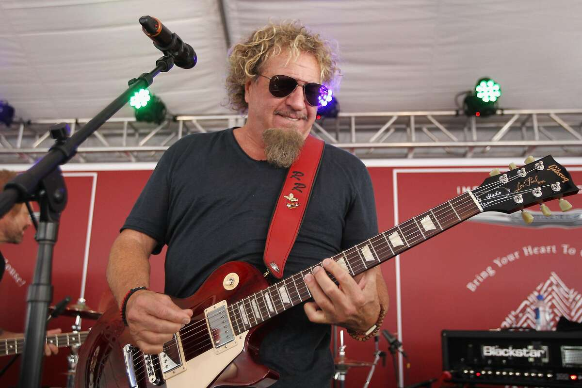 WEST HOLLYWOOD, CA - APRIL 17: Recording artist Sammy Hagar performs onstage during the John Varvatos 13th Annual Stuart House benefit presented by Chrysler with Kids' Tent by Hasbro Studios at John Varvatos Boutique on April 17, 2016 in West Hollywood, California. (Photo by Tommaso Boddi/Getty Images for John Varvatos)