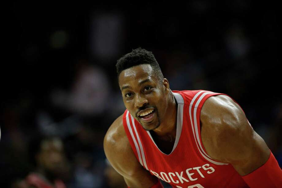 Howard said he has not decided whether to opt out of his Rockets contract and has not thought about where he will play next season. Photo: Matt Slocum, STF / AP