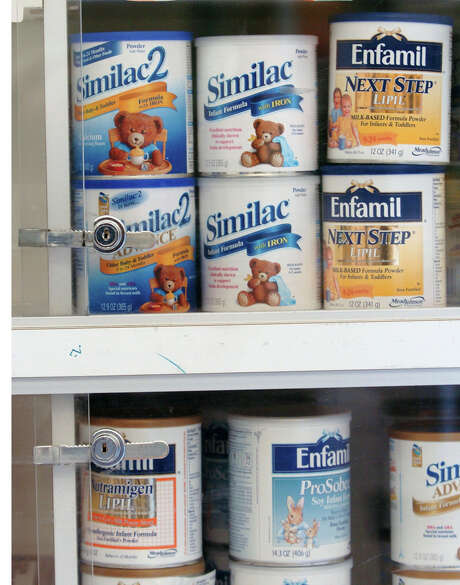 Baby formula  long has been a target for professional shoplifters, who typically resell it on the black market. Photo: BRADLEY C. BOWER, STR / AP
