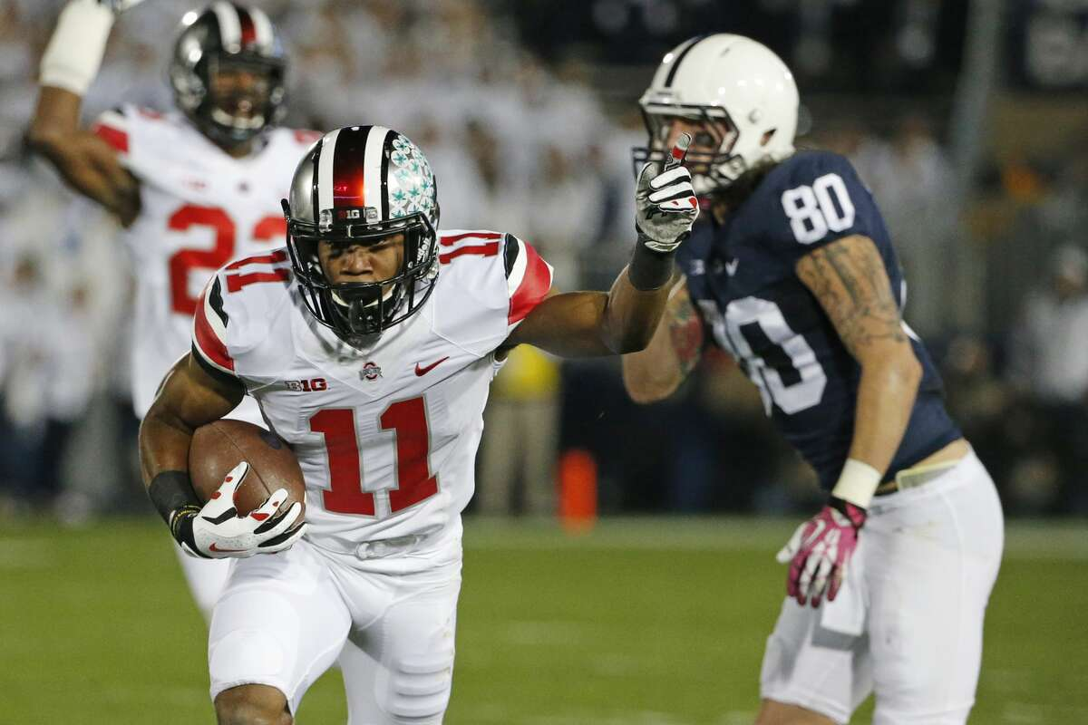 S Vonn Bell, Ohio StateNotes: The former Buckeye is the top safety left on the board after an unexpected run in round one.