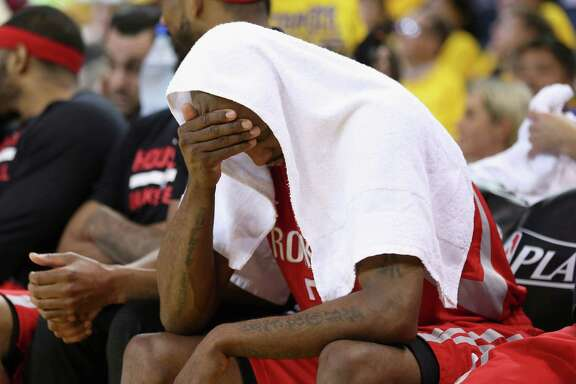 Jason Terry couldn't stand to watch the final tormenting minutes of Wednesday's Game 5 loss to the Warriors, which was a microcosm of the Rockets' season.