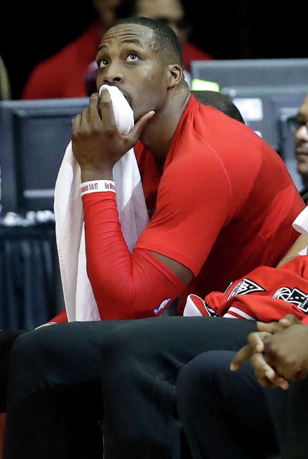 There's little reason to think Dwight Howard will stick around. Photo: David J. Phillip, STF / AP