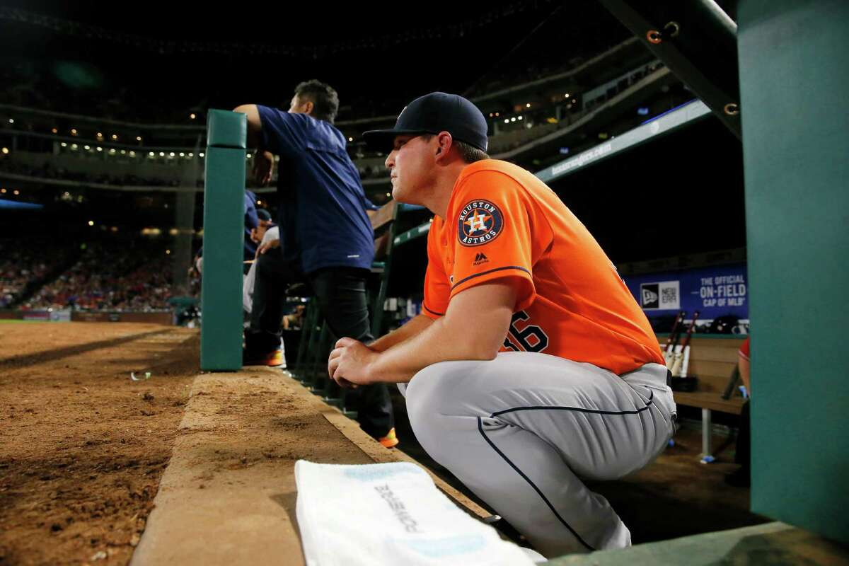 Reliever Will Harris has been a key contributor lately for the Astros' bullpen, reeling off a string of nine consecutive scoreless outings.