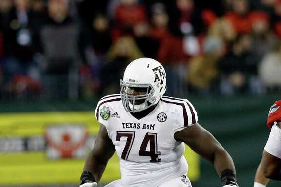 Offensive lineman Germain Ifedi is the first first-rounder from Texas A&M to not only play for coach Kevin Sumlin but also to have been recruited by him.