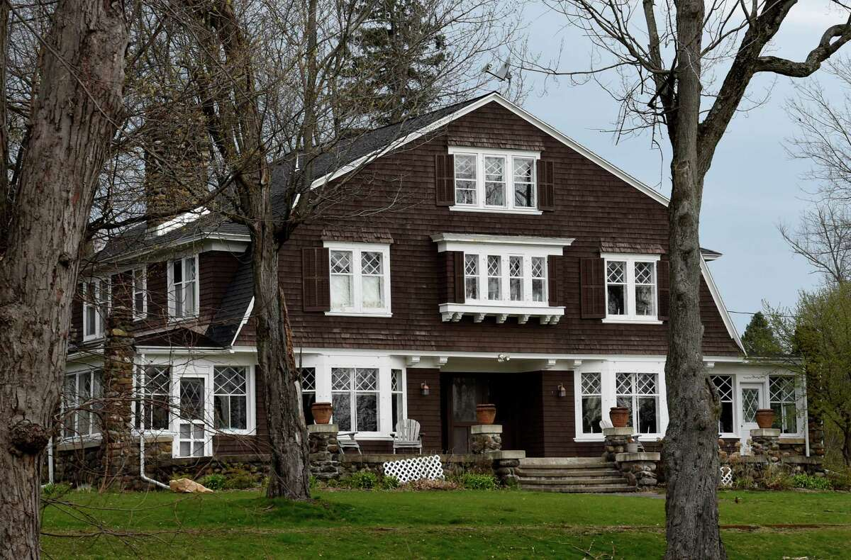 Exterior view of a Dutch colonial at 7 Jane's Avenue on Friday, April 22, 2016, in Round Lake, N.Y. (Skip Dickstein/Times Union)
