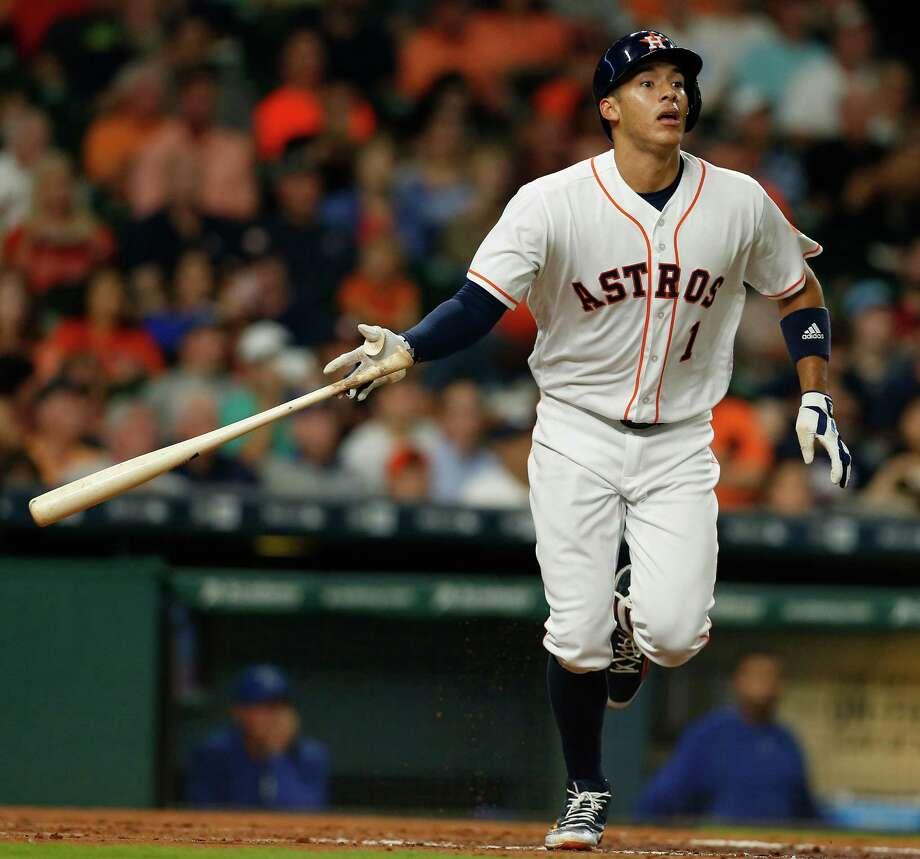 Astros' Carl... Carlos Correa