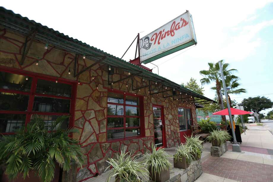 "The Original Ninfa's on Navigation is mentioned in places to visit in ""100 Things To Do in Houston Before You Die,"" published by A.J. Mistretta, of Houston, Tuesday, Aug. 18, 2015, in Houston, Texas. Mistretta is the senior public relations manager for the Greater Houston Convention and Visitors Bureau. ( Gary Coronado / Houston Chronicle ) Photo: Gary Coronado, Staff / © 2015 Houston Chronicle"