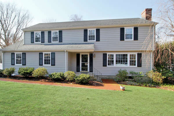 The property at 1405 Round Hill Road is on the market for $824,000.
