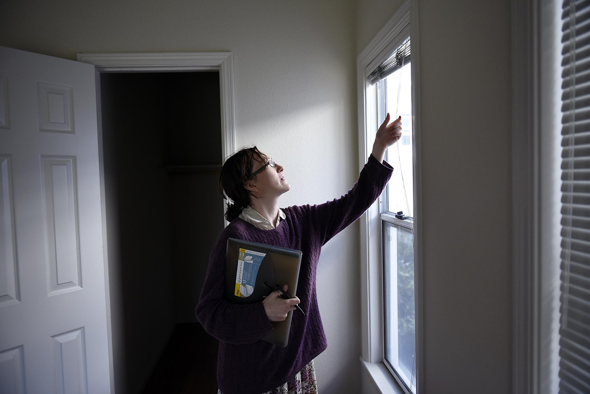 state cities encourage in law units to ease housing crunch san elysse wilson egolf checks on an empty apartment as part of her duties as a