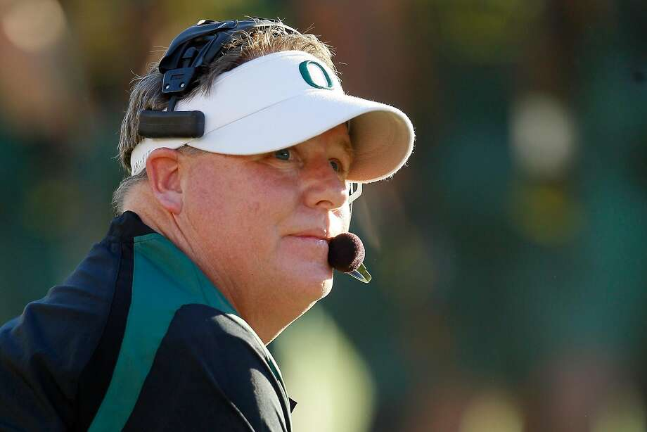 Chip Kelly's six-season tenure at Oregon helps explain the 11 Pac-12 draft picks his teams have had since he joined the NFL in 2013. Photo: Jeff Gross, Getty Images