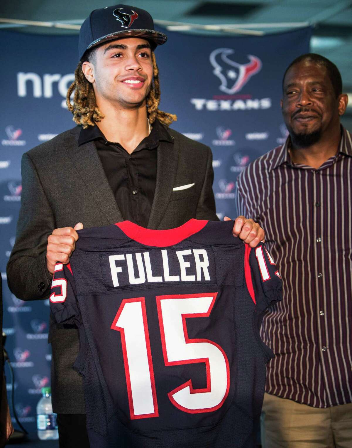 AFC SOUTH Houston Texans Grade: B-plus Comment: They solved their speed problem on offense with Will Fuller (4.32), Braxton Miller (4.41) and Tyler Ervin (4.41). Ervin could be the return specialist they've been missing. Nick Martin should win the starting job.