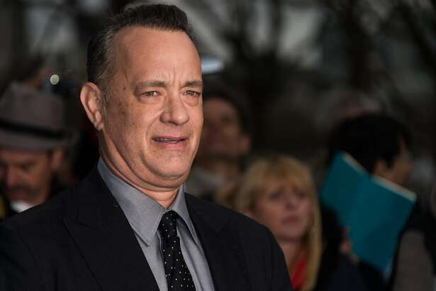 """LONDON, ENGLAND - APRIL 25: Tom Hanks attends the UK premiere of """"A Hologram For The King"""" at BFI Southbank on April 25, 2016 in London, England.  (Photo by Ian Gavan/Getty Images)"""