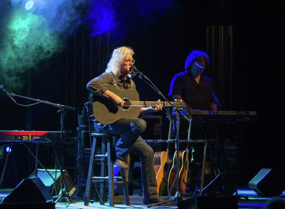 Arlo Guthrie performs at the Ridgefield Playhouse on Sunday, May 8. Photo: Contributed Photo
