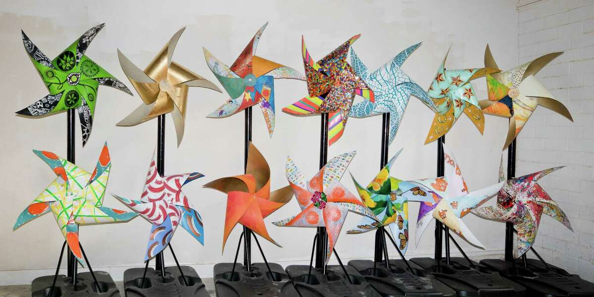 Pinwheels will be displayed throughout the city in honor of the children struggling with mental illness in Bexar County.
