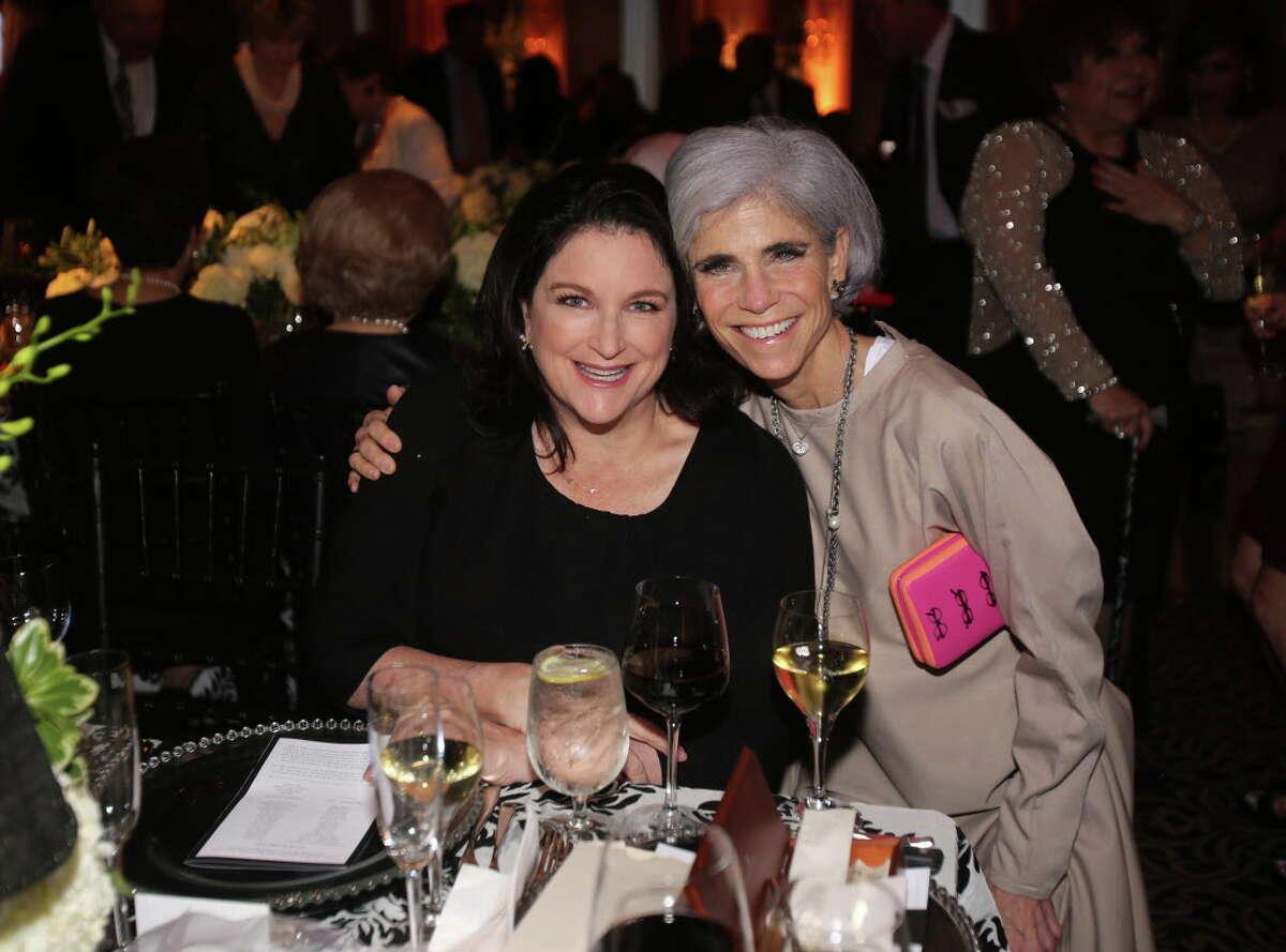 Lea Washington and Judy Nyquist at the Houston Arts Alliance's