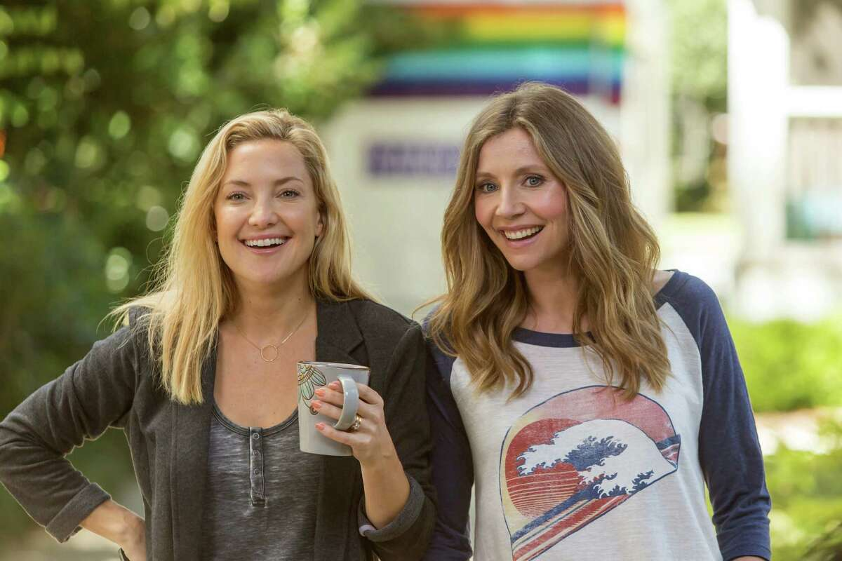 """Mother's Day"" also stars Kate Hudson, left, and Sarah Chalke."