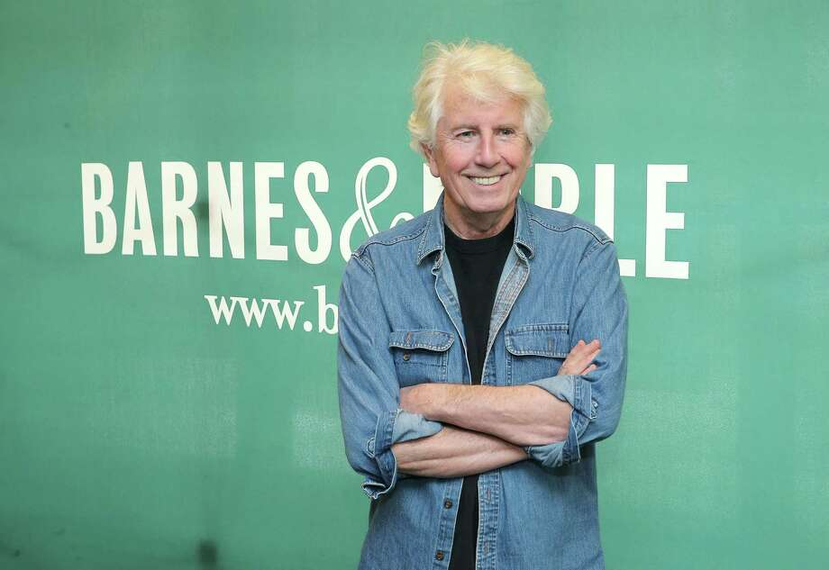 "Musician Graham Nash poses for a photo during an in-store signing event for his new album ""The Path Tonight"" at Barnes & Noble  in New York City. Photo: Jemal Countess, Stringer / 2016 Getty Images"