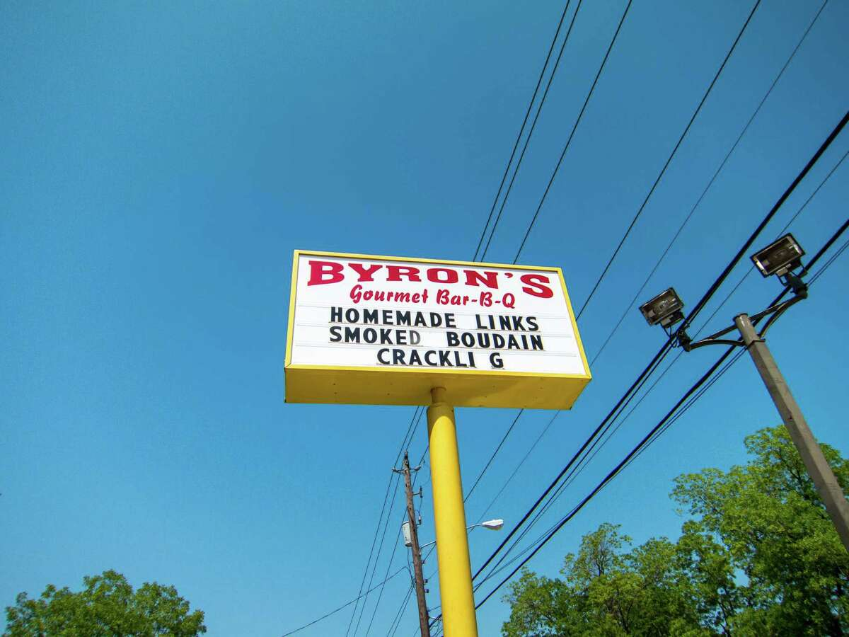 Byron's Gourmet Bar-B-Q. ( J.C. Reid / Houston Chronicle )