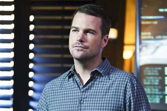 "In this image released by CBS shows Chris O'Donnell as Special Agent G. Callen in a scene from, ""NCIS: Los Angeles."" The show will wrap its current season on Monday, May 2. (Sonja Flemming/CBS via AP)"