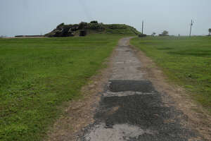 Bunkers used as proaction along the coastline later served as hurricane shelters and are now part of the Fort Travis Park in the Bolivar Peninsula. The area continues to see new growth and development after being devastated by Hurricane Ike. Photo taken Wednesday, April 27, 2016 Kim Brent/The Enterprise
