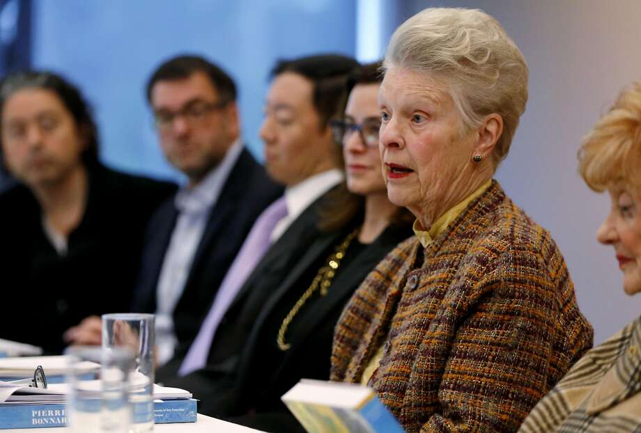 Louise Renne, former S.F. city attorney, at a Board of Trustees meeting of the Fine Arts Museums that governs the de Young. Photo: Connor Radnovich, The Chronicle