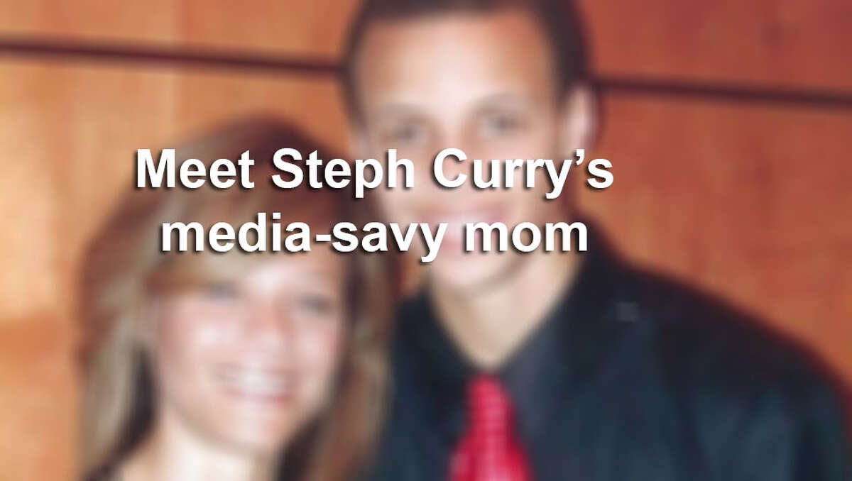Click ahead to learn more about Steph Curry's ever present cheerleader and mom.