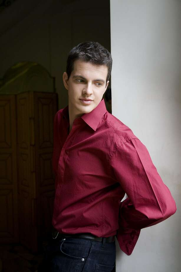 Philippe Jaroussky sang pieces set to the poet's work. Photo: Simon Fowler