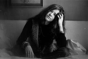 """Image of Janis Joplin from the documentary """"Janis: Little Girl Bllue"""""""