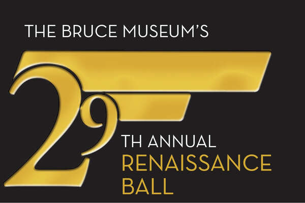 The logo for the upcoming Bruce Museum Renaissance Ball, which this year has a James Bond theme.