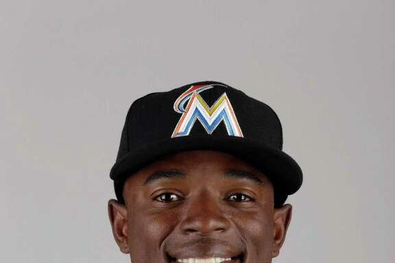 This is a 2016 photo of Dee Gordon of the Miami Marlins baseball team.  This image reflects the Marlins active roster as of Wednesday, Feb. 24, 2016, when this image was taken. (AP Photo/Jeff Roberson)