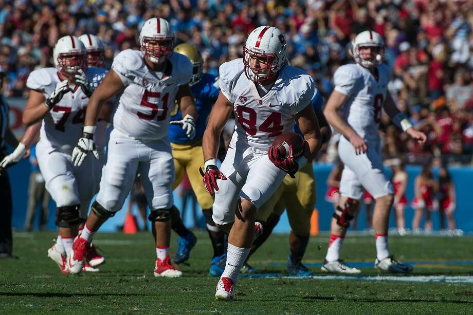 Stanford, CA, November 28, 2014.Stanford Football vs. UCLA at Rose Bowl. Stanford won 31-10. Photo: Karen Ambrose Hickey, Karen Ambrose Hickey/Stanfordphoto.com