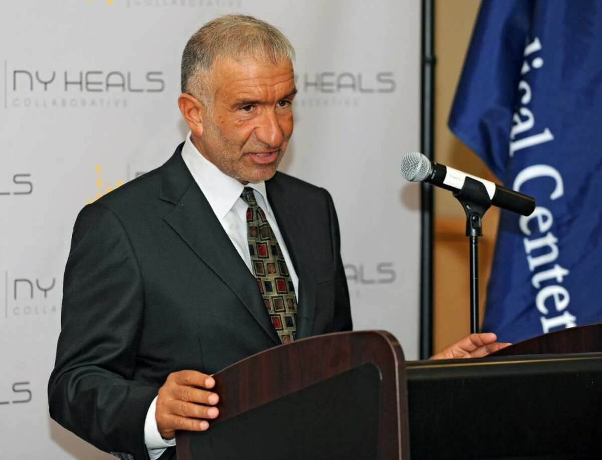 Alain Kaloyeros, president of SUNY Polytechnic Institute in Albany