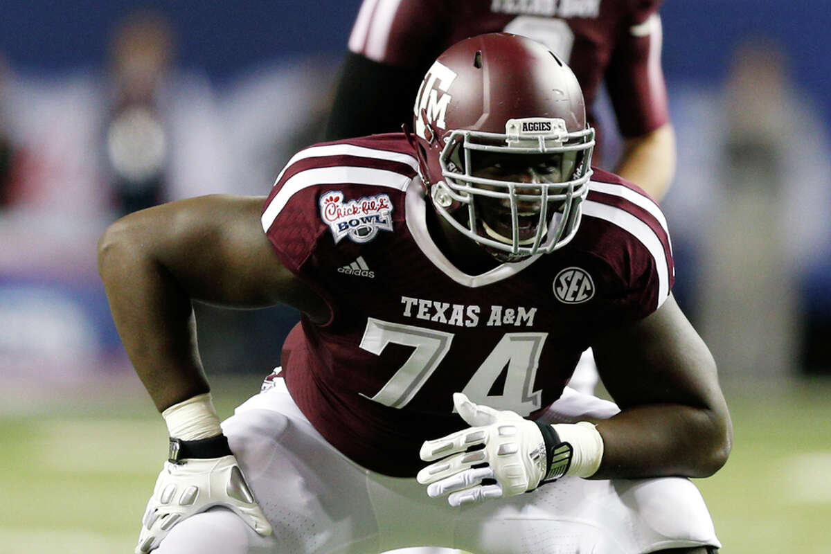 First round (No. 31 overall): OT Germain Ifedi, Texas A&M 6-foot-6, 324 pounds Notes: After trading with the Broncos to move down five spots, Seattle made Ifedi its first first-round pick since selecting Bruce Irvin No. 15 overall in 2012.