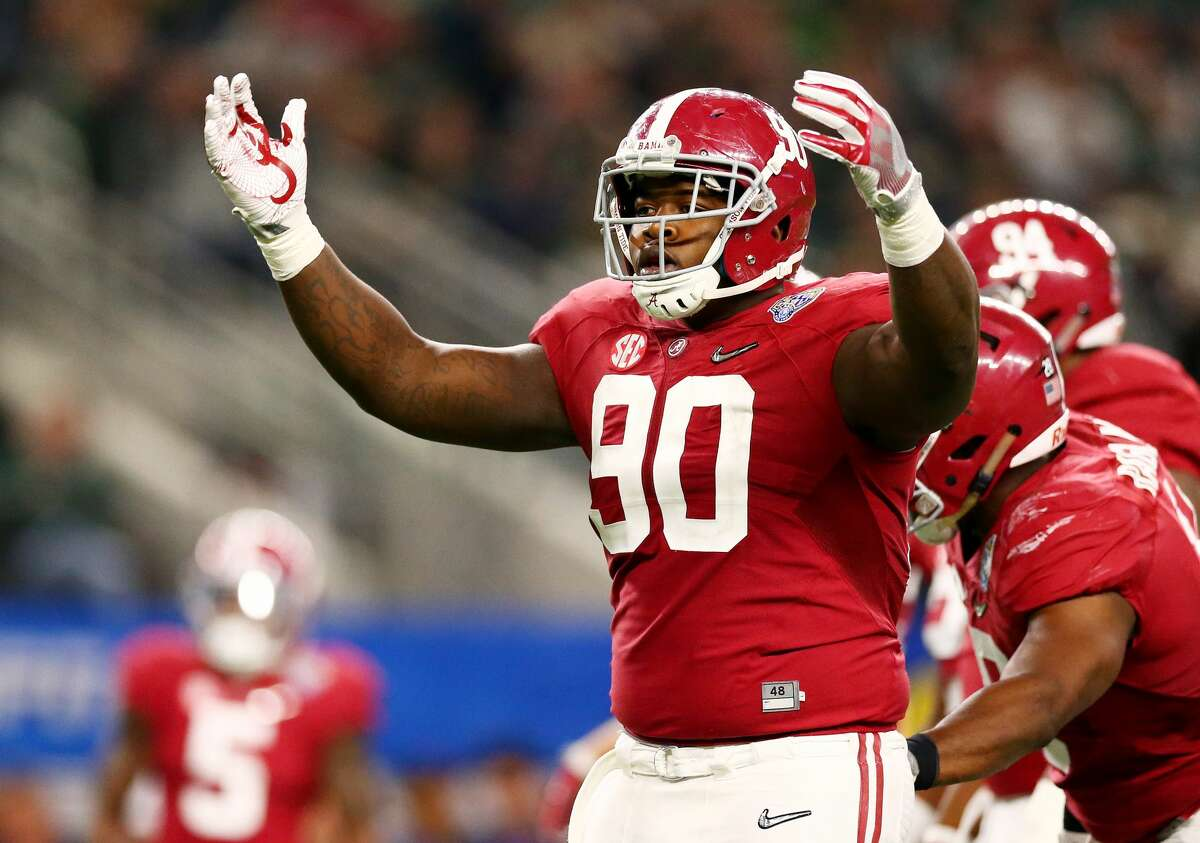 Second round (No. 49 overall): DT Jarran Reed, Alabama 6-foot-3, 307 pounds Notes: The Seahawks toyed with the idea of selecting Reed in the first round, but traded up with the Bears to take him midway through the second.