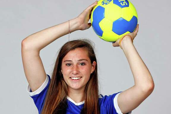 Megan Katona of Alamo Heights is one of the Express-News All-Area Super Team soccer players on April 24, 2016.