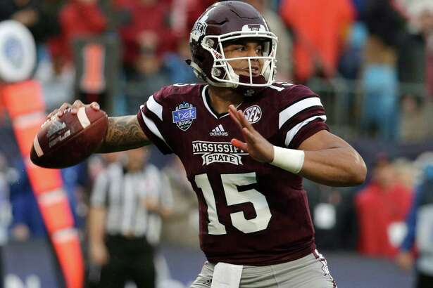 Former Mississippi State quarterback Dak Prescott was selected in the fourth round with the 135th pick. He was arrested and charged with DUI in March.