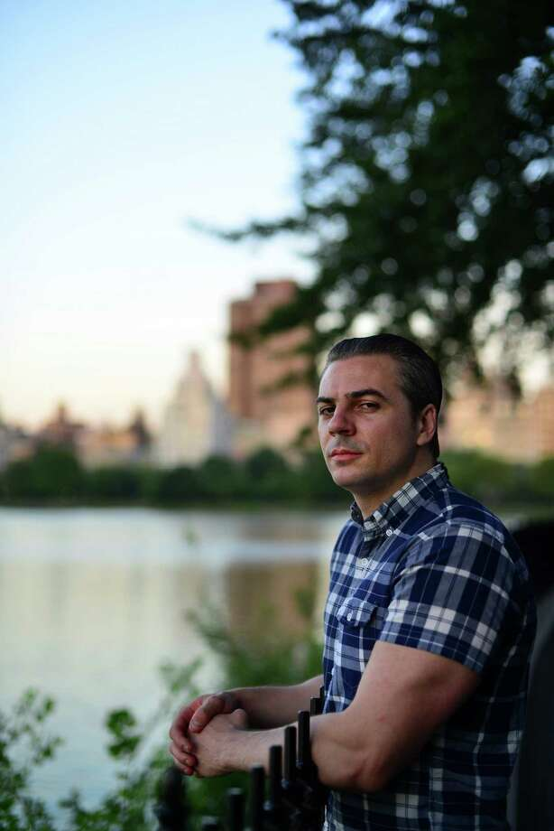 """Brandon Caro, a Greenwich High School graduate, has been working on writing projects from his home in Austin, Texas. He helped Carl Higbie write """"Enemies, Foreign and Domestic: A SEAL's Story."""" Photo: Contributed Photo / Boyan Penkov Greenwich Time contributed Boyan Penkov Greenwich Time contributed"""