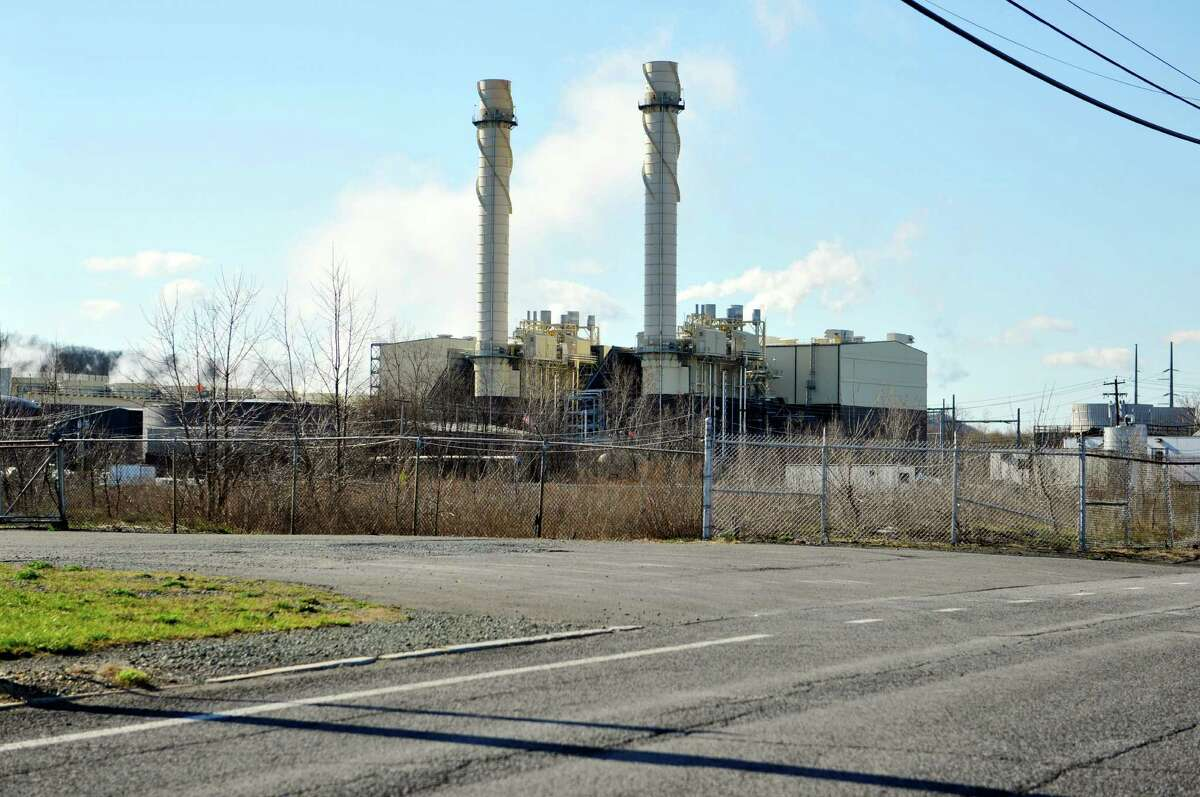 A view of the Rensselaer Cogen power plant, seen here on Wednesday, April 13, 2016, in Rensselaer, N.Y. (Paul Buckowski / Times Union)