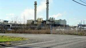 A view of the Rensselaer Cogen power plant, seen here on Wednesday, April 13, 2016, in Rensselaer, N.Y.   (Paul Buckowski / Times Union)