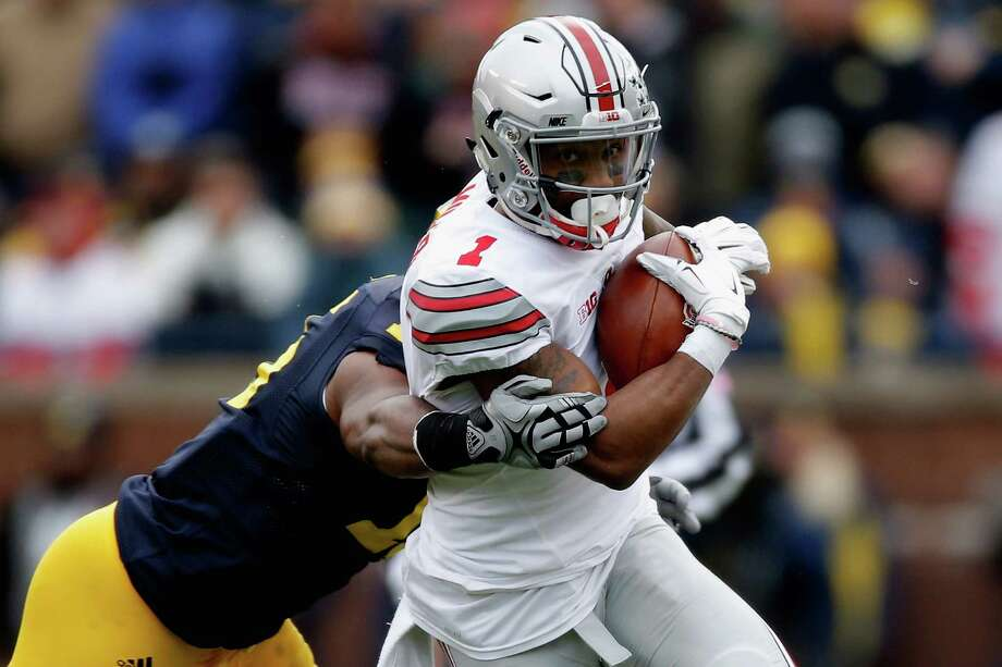 Braxton Miller didn't switch to receiver at Ohio State until after Tom Herman left, but UH's coach praised his former quarterback's athleticism and drive. Photo: Gregory Shamus, Stringer / 2015 Getty Images