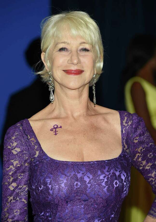 Helen Mirren arrives at the White House Correspondents' Association Dinner at the Washington Hilton Hotel, Saturday, April 30, 2016, in Washington. (Photo by Evan Agostini/Invision/AP) Photo: Evan Agostini, INVL / Invision