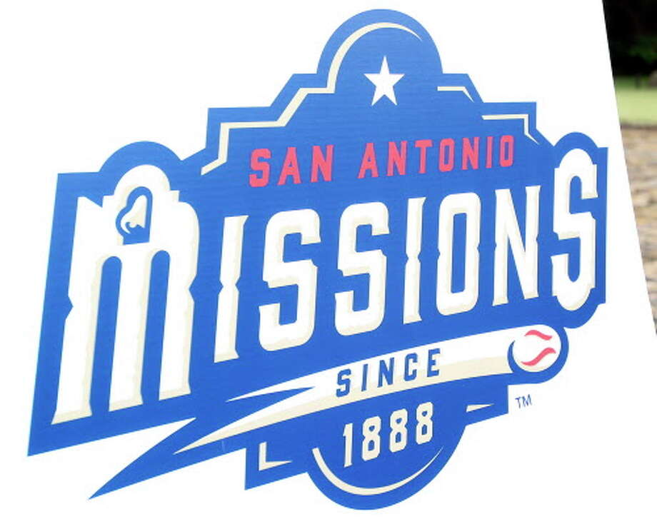 San Antonio baseball gets a new look as representatives from the San Antonio Missions baseball team announce changes in the team's logo and uniforms with the Alamo as a backdrop on November 21, 2014. Photo: San Antonio Missions