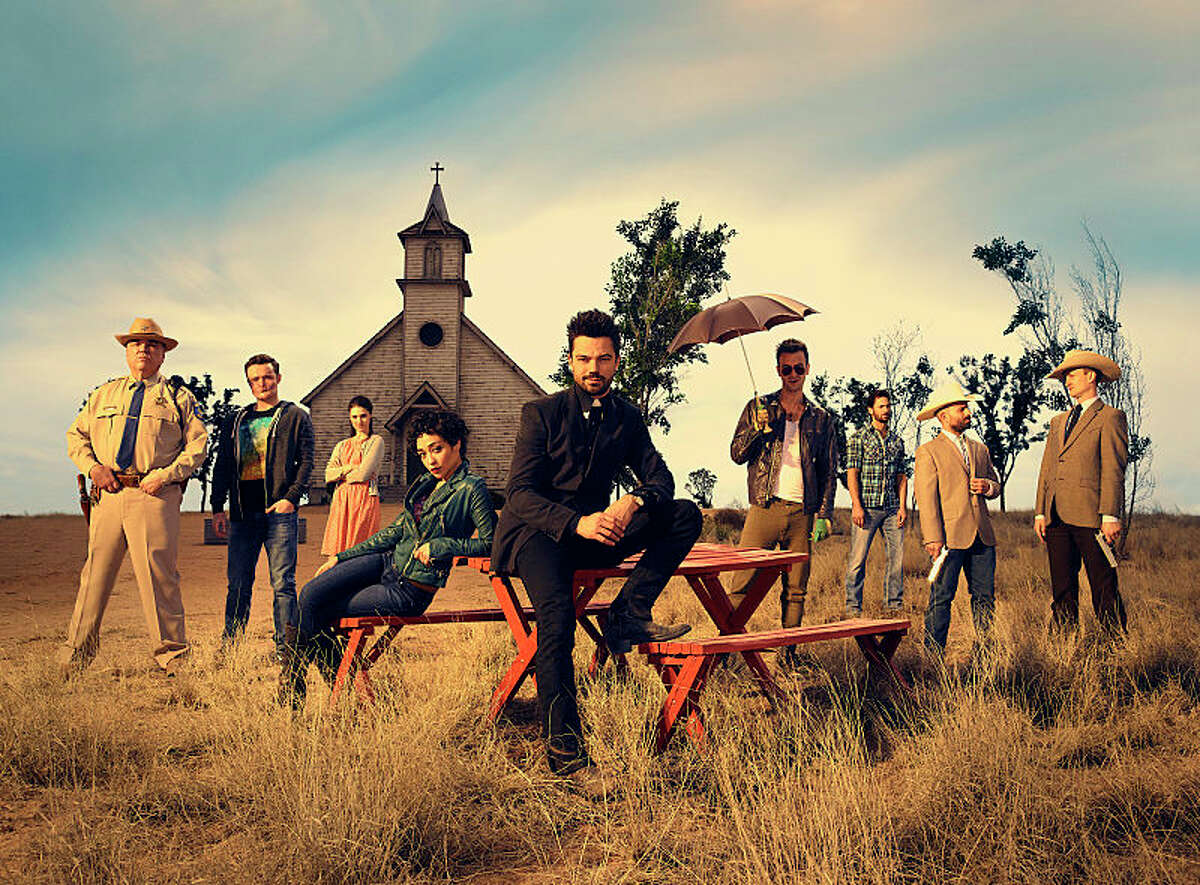 """""""Preacher"""" AMC's newest and most popular show is based on the comic book of the same name. Preacher follows Jesse Custer, a West Texas preacher, who has inherited an interesting power that leads him on an adventure with his ex-girlfriend Tulip and an Irishman named Cassidy."""