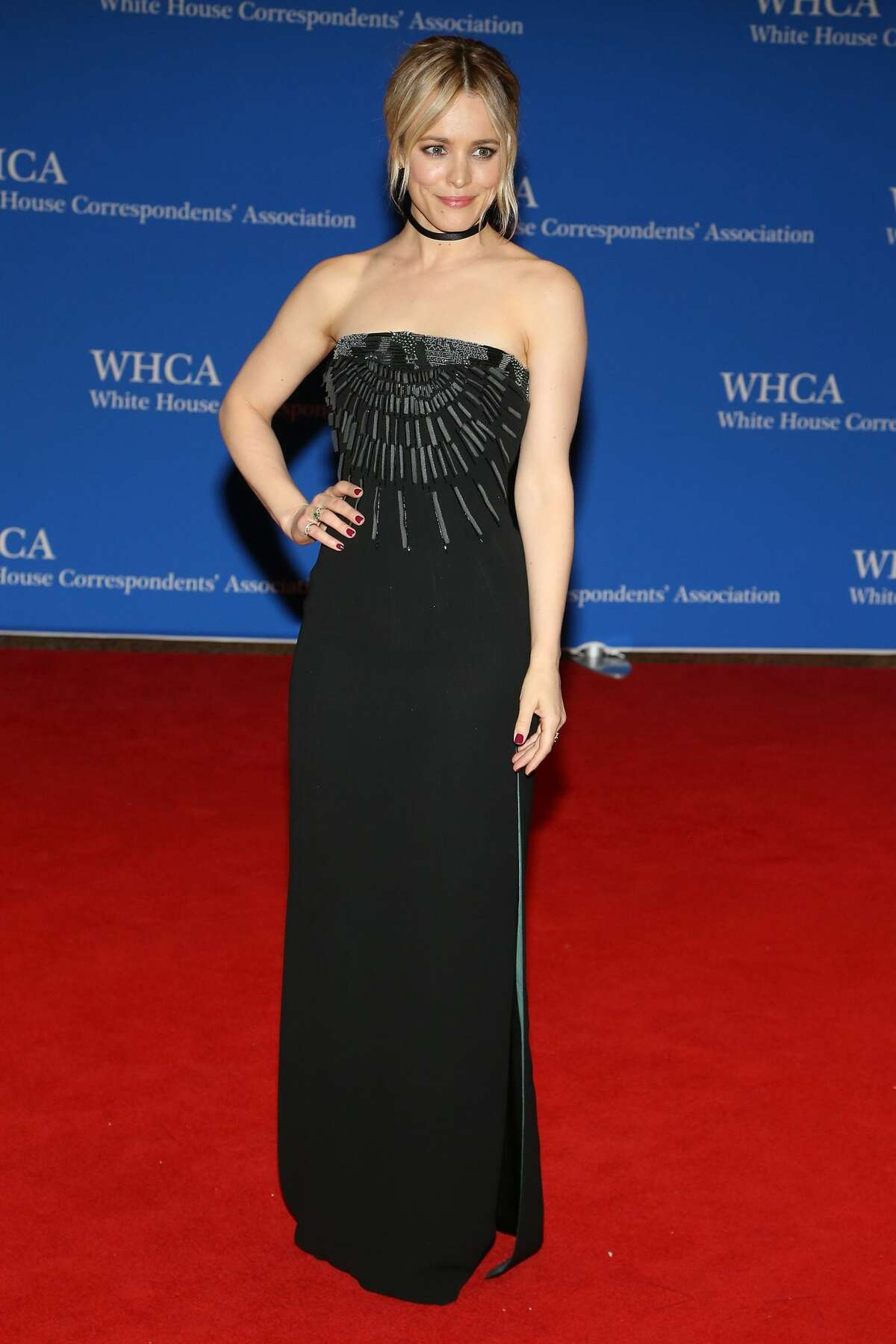 Actress Rachel McAdams attends the 102nd White House Correspondents' Association Dinner on April 30, 2016 in Washington, DC.