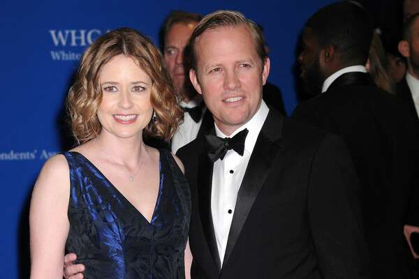 WASHINGTON, DC - APRIL 30: Actress Jenna Fischer and Lee Kirk attend the 102nd White House Correspondents' Association Dinner  on April 30, 2016 in Washington, DC.  (Photo by Kris Connor/FilmMagic)