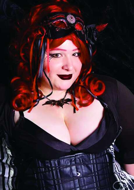 Shawna Berry Davis formed the Bodice Club as a place where plus-size fans of Goth can get together without stigma and be themselves. Photo: John Ashton-Keller