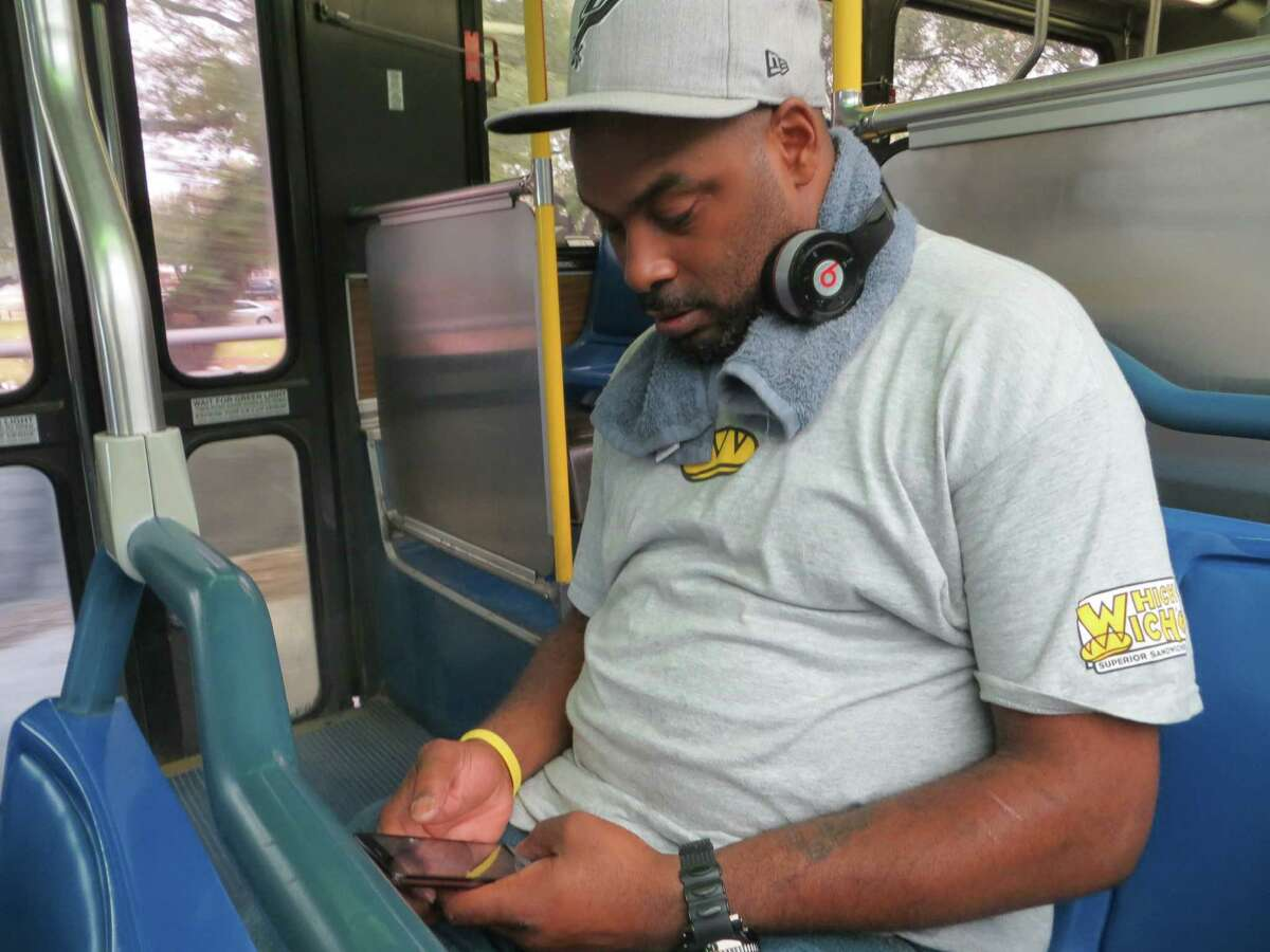 Cutting bus service in Castle Hills would affect lots of people who don't reside there, like Jarrett Williams, 37, of San Antonio. He commutes an hour each workday to his job in Castle HIlls but knew nothing of the May 7 referendumin that city to decide whether to stop its fundingof VIA.