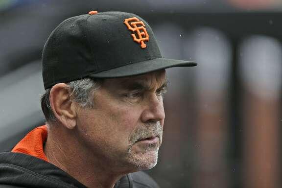 San Francisco Giants manager Bruce Bochy before the baseball game at Citi Field, Sunday, May 1, 2016 in New York. (AP Photo/Seth Wenig)