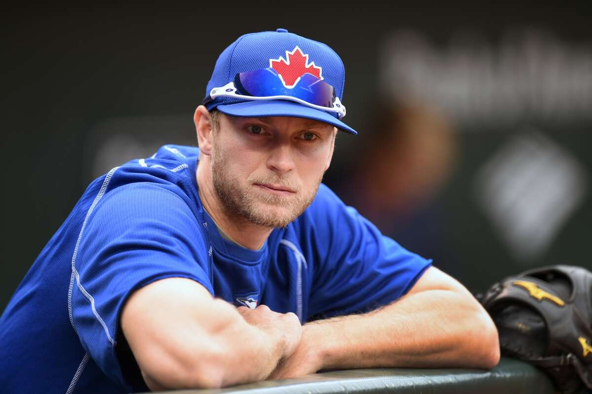 15. Toronto Blue Jays (12-14) Week 3 ranking: No. 14 Outfielder Michael Saunders batted .311 with eight doubles, four homers, eight RBIs and a .951 OPS in April. In a bigger surprise, Michael Saunders made it through April without getting hurt.
